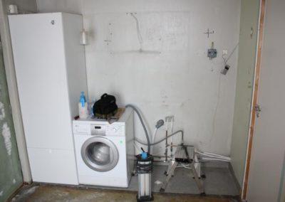 Tvättstuga - före